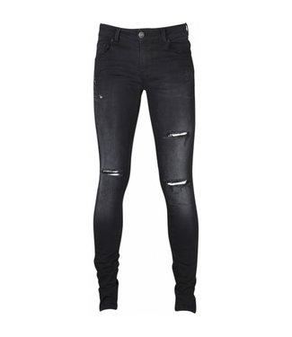 BOWIE Jeans 12996  | black holes