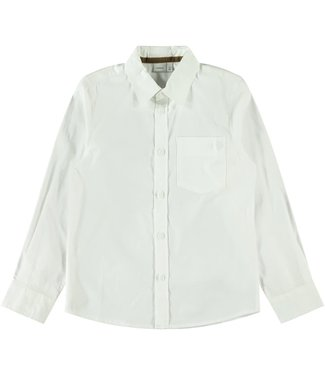 name it NKMRAUL Shirt 13182873 - white