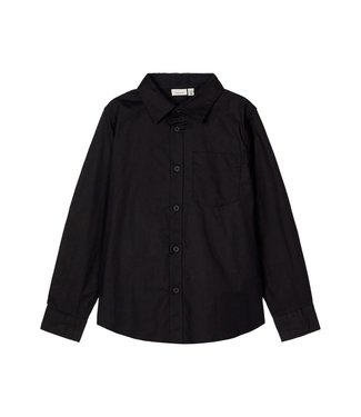 name it NMMRAUL Shirt 13182846 - black