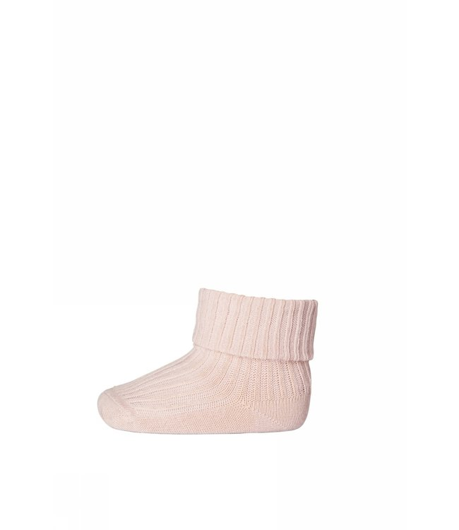 Socks  533 cotton rib   817 tropical peach