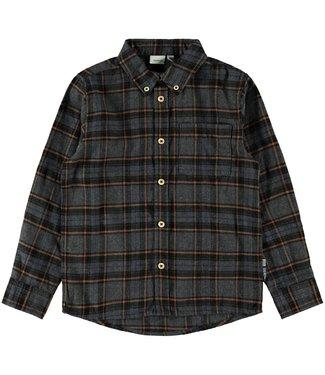 name it NKMSAUL Shirt 13182881 - dark grey