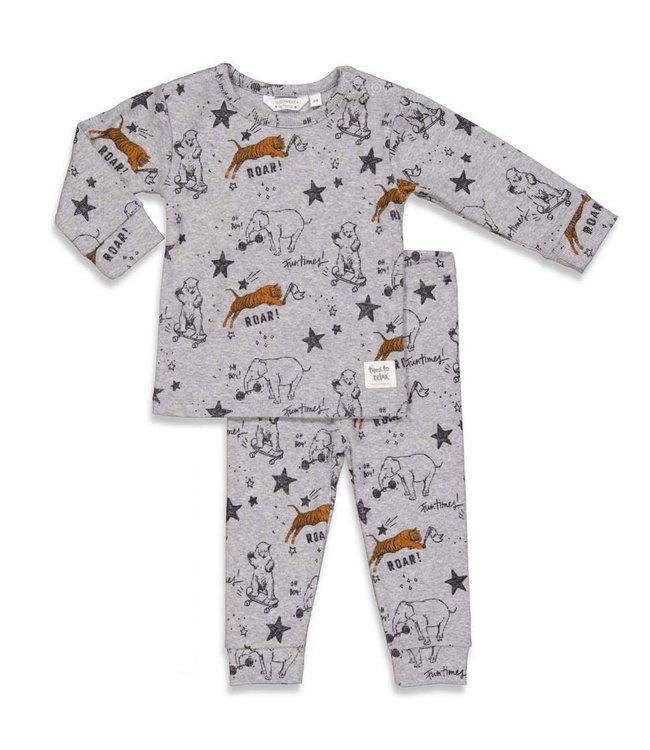 Roar Riley pyjama - grijs