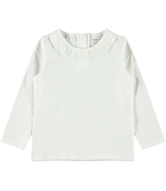 NMFSOLINE Longsleeve 13184135 - white