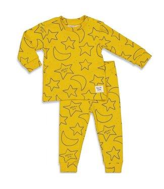 Feetje Star Skylar pyjama - okergeel