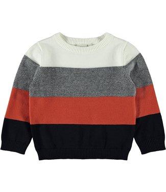 name it NMMRIMEL Knit 13183123 - orange