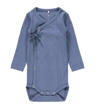 name it NBMSERIO LS WRAP BODY 13192266 - Vintage Indigo