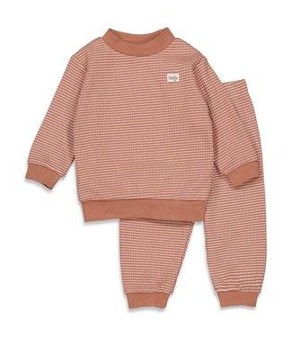 Feetje Wafel pyjama - hazelnoot