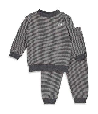 Feetje Wafel pyjama - antraciet
