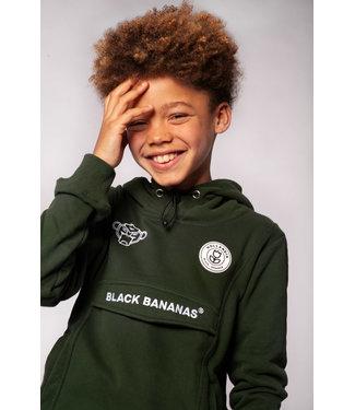 BLACK BANANAS Anorak Hoody - moss green