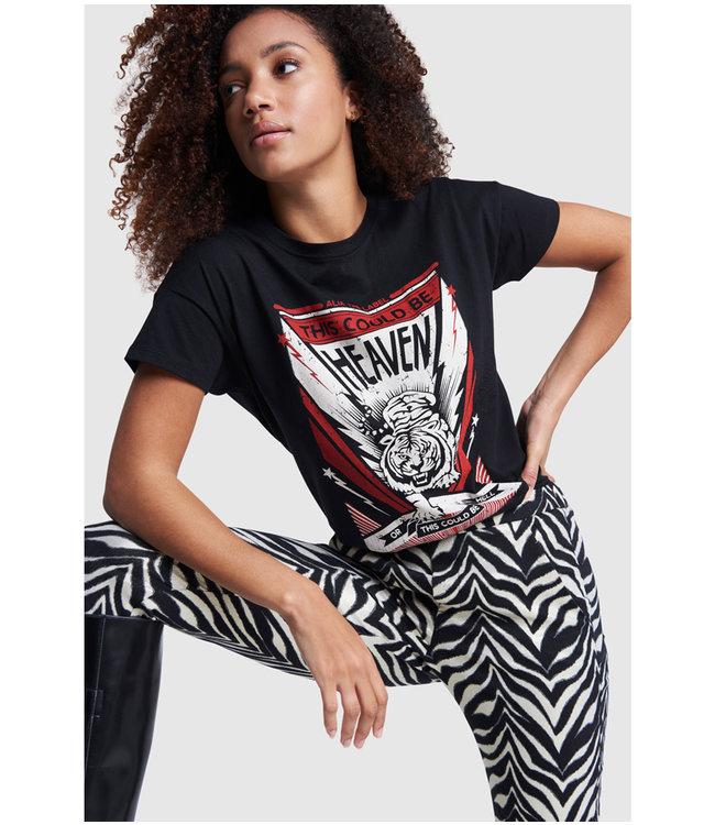 Tiger T-shirt - black