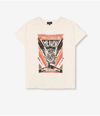 ALIX Tiger T-shirt - white