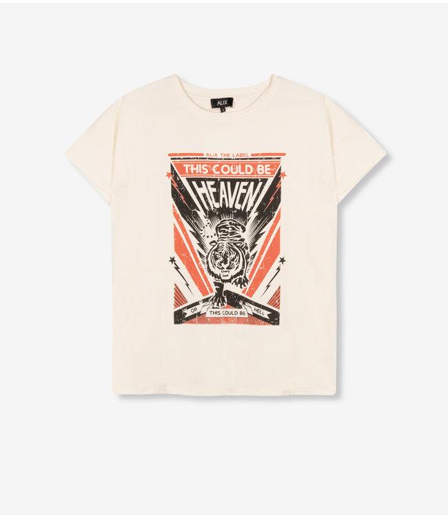 Tiger T-shirt - white