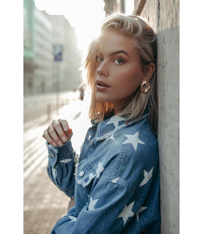 Sabrina Star Utility Blouse 10016