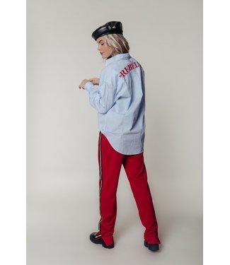 Colourful Rebel Cece Striped Oversized Blouse 10013