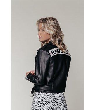 Colourful Rebel Alanna Biker Jacket 10012