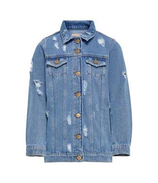 KIDS ONLY KONEMILIA Long dnm jacket 15225309 - medium blue