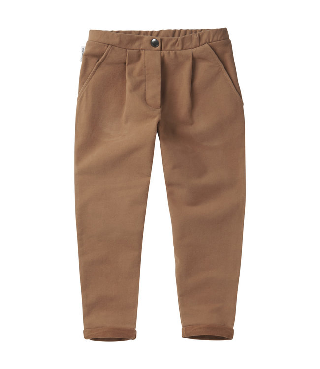 Cropped Chino Warm Earth