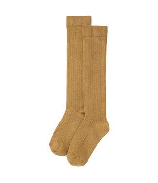 MINGO Knee Socks Light Ochre