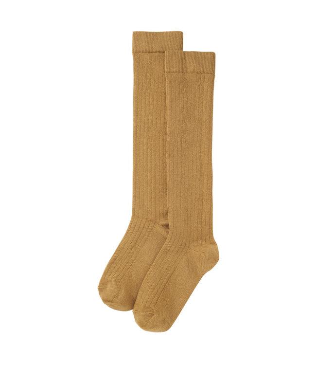 Knee Socks Light Ochre