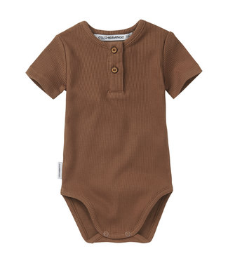 MINGO Rib Bodysuit Warm Earth