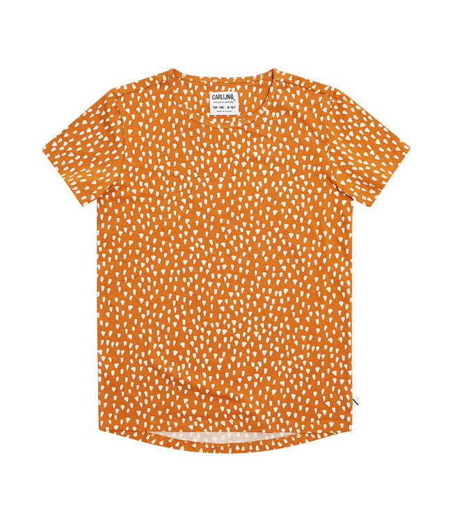 Golden Sparkles - short sleeve drop back