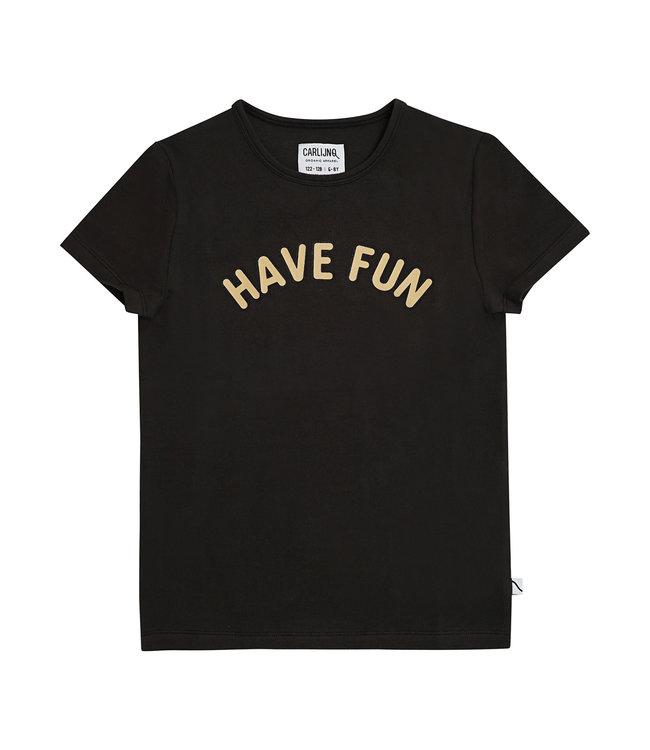 Have fun - t-shirt black