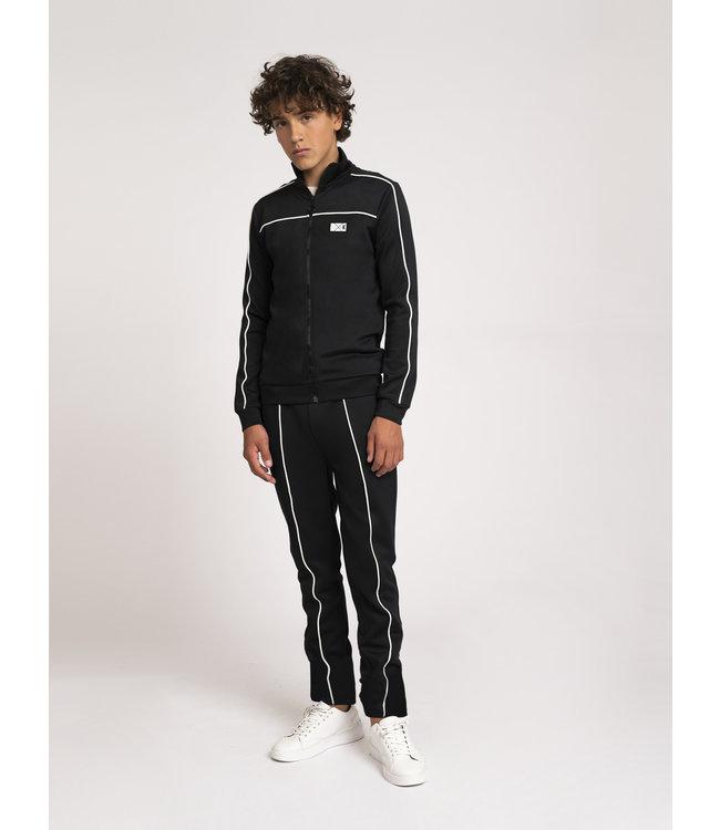 Alain Track Jacket 8-432  - Black