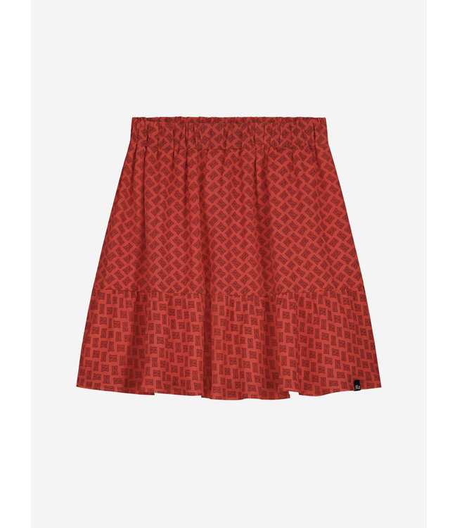 Abby Logo Skirt 3-475 - Pop Red