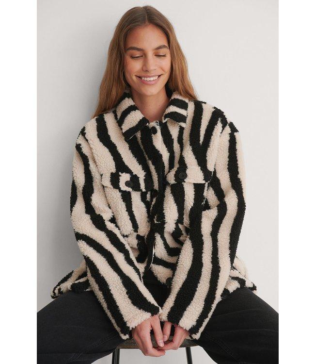 Animal Shacket 007180 zebra