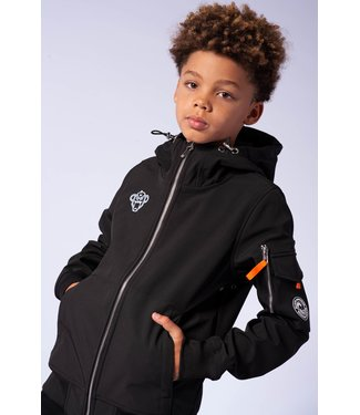 BLACK BANANAS Softshell Jacket - black