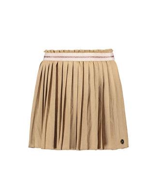 FLO Suede plisse skirt 102-5710 - mud