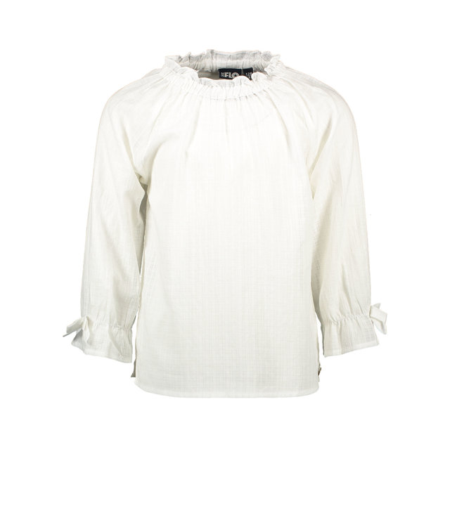 Woven blouse F102-5190 - offwhite
