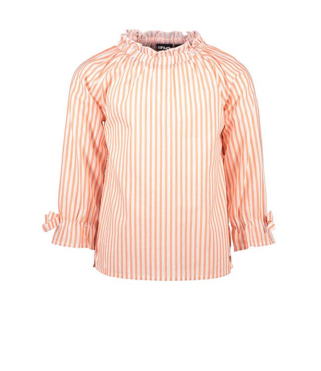 Woven blouse F102-5190 - stripe