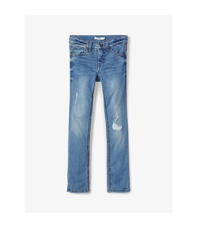 NKMTHEO Skinny 1316 13184247 - light blue