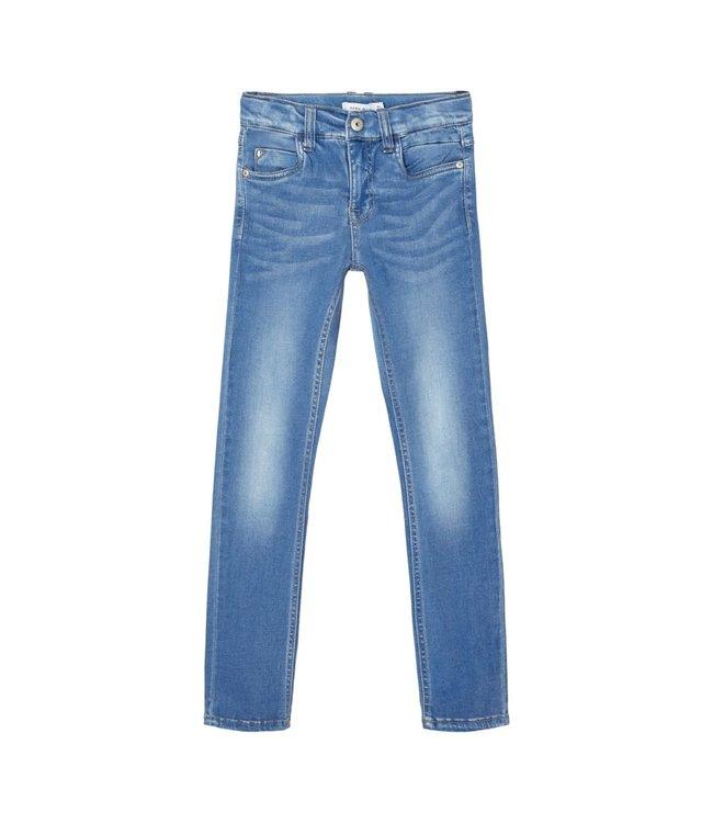 NKMTHEO Skinny 2455 13185231 - medium blue