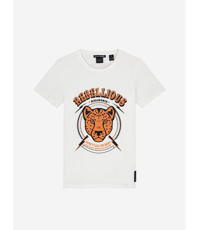 Rebellious T-Shirt 8-548 - Off White