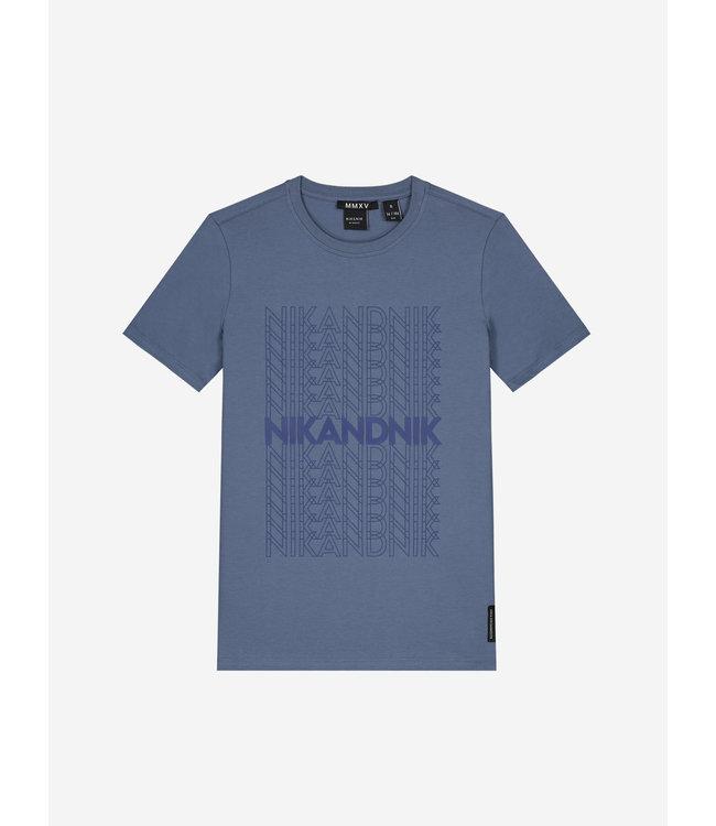 Arthur T-Shirt 8-420 - Dusty Blue