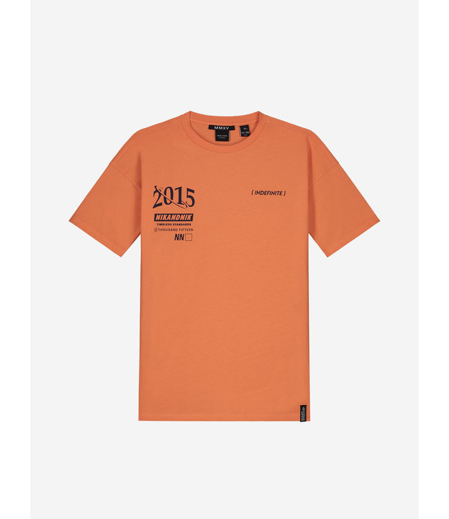 Aron T-Shirt 8-410 - Lobster Red