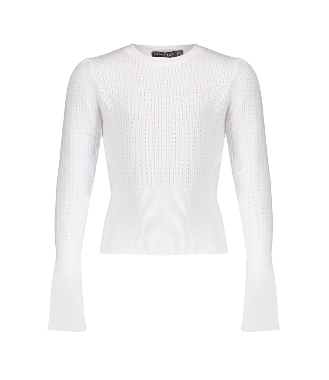 Sally Knit - paper white