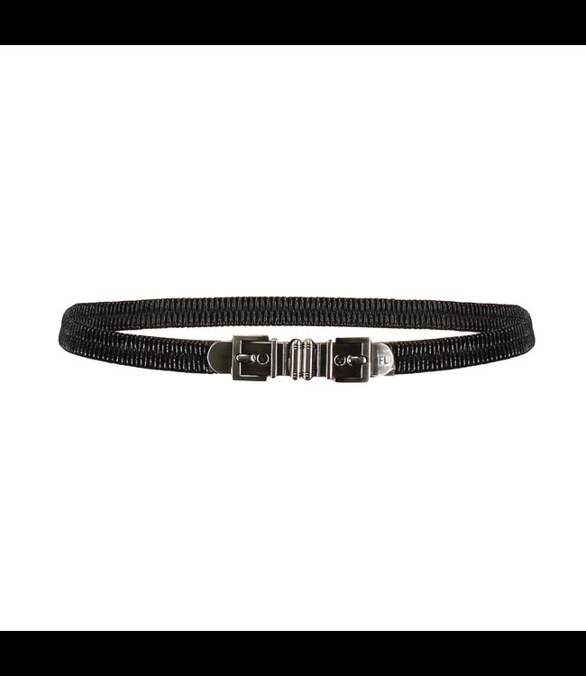 Belt Buckle - black/silver