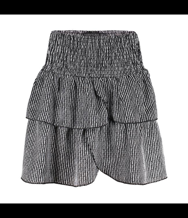 Sanne skirt - black/white
