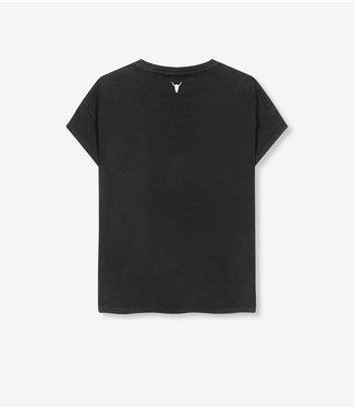 ALIX Alix university T-shirt - black