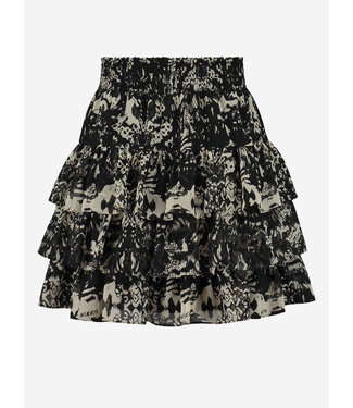 NIKKIE Fay-Lee Ruffle Skirt 3-890 black