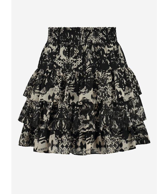 Fay-Lee Ruffle Skirt 3-890 black
