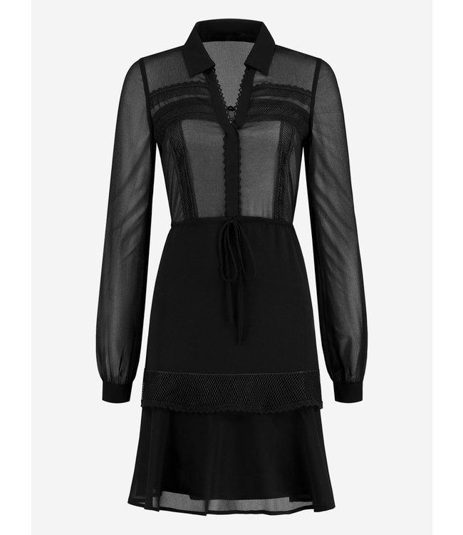 Fien Dress 5-049 | black