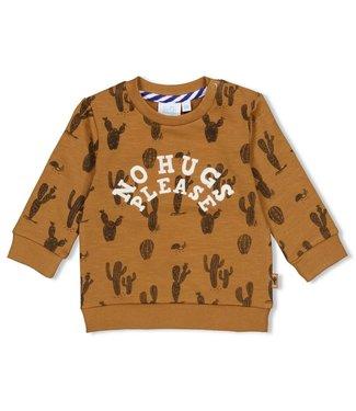 Feetje Sweater AOP 51601687 - camel