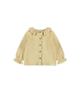 Lil Atelier NMFINA Shirt 13187780 - taos taupe
