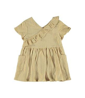 Lil Atelier NMFINA Dress 13187858 - Taos Taupe