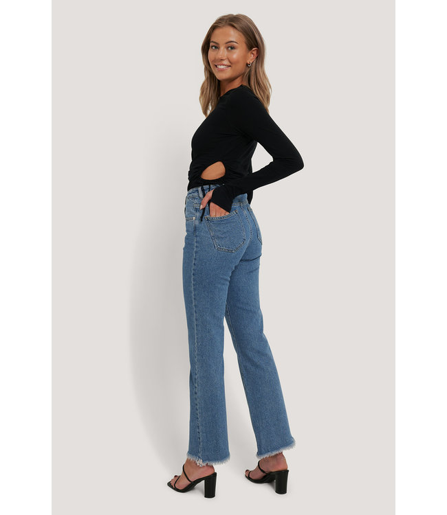 Relaxed Bootcut Jeans 000211 - mid blue