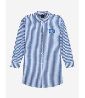NIK & NIK Olena Shirt Dress 5-497 - Off White/Royal Blue